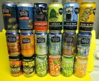 18 DIF NEW CRAFT SAMUEL SAM ADAMS BOSTON LAGER BEER CANS BOSTON MA PA
