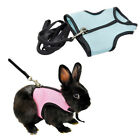 1PCS Harness Leash Strap Lead Traction Rope For Hamster Rabbit Guinea Pig US