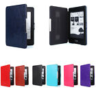 Premium Slim Leather Smart Case Cover For New Amazon Kindle Paperwhite US