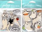 U CHOOSE Jolee's HALLOWEEN Stickers GAUZE GHOSTS - WRAPPED GHOSTS Haunted House