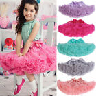 Kinder Mädchen Prinzessin Party Tutu Rock Ballett Dancewear Kleid pettiskirt Top