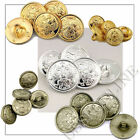 Russian Army Military Uniform Eagle Crest Buttons