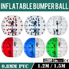 1.2/1.5M Body Inflatable Bumper Football PVC Zorb Ball Human Outdoor Heat Sealed