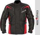 Buffalo Hurricane Red Textile Motorcycle Jacket Commuter Touring Scooter