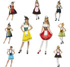 Ladies Bavarian Costume Oktoberfest Fancy Dress
