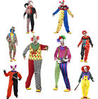 Men's Halloween Clown Scary Clown Fancy Dress