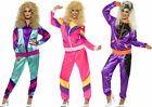 Ladies 80's 1980's Shell Suit Tracksuits Fancy Dress