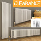 Traditional 3Column Radiator Horizontal Vertical Cast Iron Style Central Heating