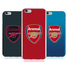OFFICIAL ARSENAL FC 2017/18 CREST KIT SOFT GEL CASE FOR APPLE iPHONE PHONES