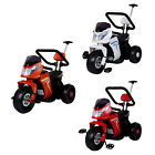 3in1 BMW Style 6V Kids Battery Electric Ride On Motorbike Pedal Trike & Push Bar