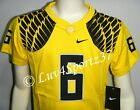 OREGON DUCKS Wings Yellow NIKE FOOTBALL JERSEY #6 Nelson KIDS Preschool 4 or 5