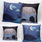 Retro Cotton Linen Pillowcase Throw Cushion Cover Home Bed Sofa Decor Sale