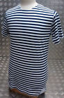 Russian / Soviet / USSR / CCCP Style Stripy Sailors Telnyashka Top Short Sleeve