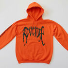 REVENGE 'KILL' HOODIE - MENS Orange Sweatshirt - XXXTentacion -Bad Vibes Forever