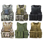 New Tactical Military Waistcoat Airsoft Molle Combat Assault Plate Carrier Vest