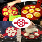 Non Stick Flippin Fantastic Nonstick Pancake/Eggs Ring Maker Home Kitchen US