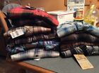Sears & Roebuck Young Men's Flannel Shirts NWT