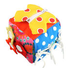 Baby Toddler Kid Child Soft Stuffed Buckle Zipper Keep Buzy Stay Focus Toy Doll