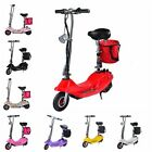 Electric Scooter For Adults 24v Mini Foldable Lithium Brushless Motor E-Bike NEW