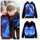 1x Galaxy Comic Stars Astronomy Printed SweatersTop Shirt Jumper Couple Hoodies