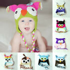 Baby Infant Toddler Handmade Cartoon Animal Knit Crochet Beanie Hats Warm Hats