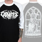 Authentic CARNIFEX Band Rest In Pain Raglan Baseball T-Shirt M-3XL NEW