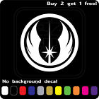 Star Wars Sticker Vinyl Decal Jedi Order Die Cut Car Window Wall Buy2 Get1 Free $2.89 USD on eBay