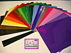 "VINYL GLOSS 6 SHEETS 12 X 12"" transfer paper 2 x A4 CRAFT ROBO CAMEO EXPRESSION"