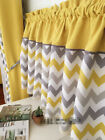 Village Cotton Chevrolet thick block lace Home Kitchen blinds Cafe Curtain gray