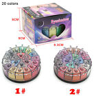 Best New 20 colors pigment glitter eye shadow powder For Sexy Woman Lady