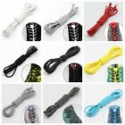 2x Elastic No-Tie Locking Lazy Shoelaces Shoe Laces With Buckles For Sport Shoes
