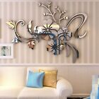 DIY 3D Mirror Art Vinyl Removable Wall Sticker Acrylic Floar Decal Home Decor 05