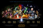 STAR WARS ALL STARS MOVIE POSTER CHOOSE SIZE $49.99 AUD