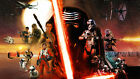 STAR WARS EPISOD 7 FORCE AWAKENS MOVIE POSTER CHOOSE SIZE $49.99 AUD