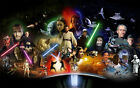 Star wars All episods Poster MOVIE POSTER CHOOSE SIZE $89.99 AUD