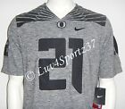 OREGON DUCKS Nike Heather Gridiron Gray LIMITED Sewn JERSEY Freeman 21 MEN S M L