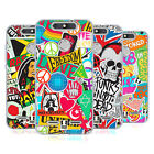 HEAD CASE DESIGNS STICKER HAPPY - NEW SOFT GEL CASE FOR ZTE BLADE V8 LITE