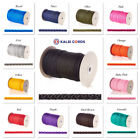 Round Knitted Cord Strong Polypropylene Drawstring Drawcord Rope For Bag Handles