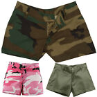 Women's Military Short Shorts Camouflage Army Casual Lounging Shorts