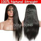 Hand Tied Full Lace Human Hair Wig European Wavy Glueless Lace Front off Black s