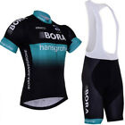 Bicycle 2017 Men Cycling Jersey Short Sleeve Clothing Bike Bib Shorts Set RR03