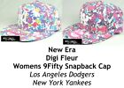 NEW ERA WOMENS DIGI FLEUR MLB 9FIFTY SNAPBACK CAP - LA DODGERS/NY YANKEES