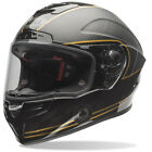 speed check services - Bell Black/Gold Race Star Ace Café Speed Check Motorcycle Full Face Helmet Snell