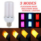4 Colors LED Flicker Flame Fire Effect Light Corn Bulb Emulation Decor Lamp 5W