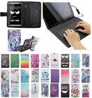 For Huawei Mediapad M2 Yougth 10.1 USB Andriod Tablet Keyboard Case Cover Flip