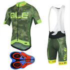 D087 2018 Cycling jersey 9D bib shorts Set Clothing MTB Bicycle Sporstwear shirt