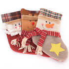Flower Plaid Christmas stockings decorations gifts socks bags for Christmas Hot!