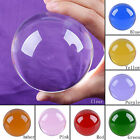 LONGWIN 80mm Crystal Balls Sphere ORB Healing Crystals Gazing Ball Solid Color