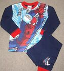 BOYS MARVEL SPIDERMAN PYJAMAS IN AGES 2-3/3-4 AND 4-5 YEARS BNWT