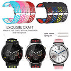 Sport Silicone Watch Band Strap For Samsung Gear S3 S2 Classic / Frontier/Huawei